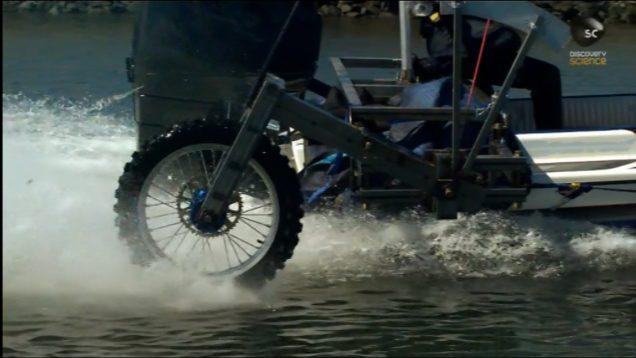 Efsane Avcıları: Yüzen Motosiklet